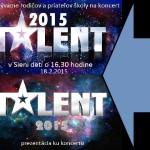 Pozvánka a prezentácia ku koncertu Talent 2015